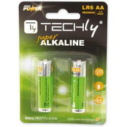 Techly High Power 1.5V AA IBT-KAL-LR06-B2T (2 db) alkalikus elem