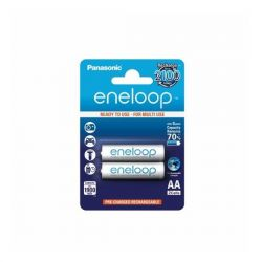 Panasonic Eneloop R6/AA 1900mAh, 2 Pcs, Blister akku elem