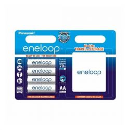 Panasonic Eneloop R6/AA 1900mAh, 4 Pcs, Blister + BOKSZ akku elem