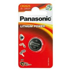 Panasonic Lithium Power CR2025 gomb elem