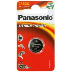 Panasonic Lithium Power CR2032 3V lithiumos gomb elem