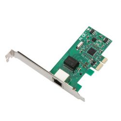 iTec PCI-E Gigabit Ethernet Card 1000/100/10MBps Regular and Low Profile
