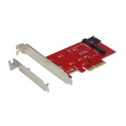 iTec PCI-E 2x M.2 Card (PCI-E/SATA) with Low Profile Backplate
