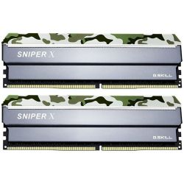 G.Skill Sniper X DDR4 32GB (2x16GB) 2400MHz CL17 1.2V Classic Camo