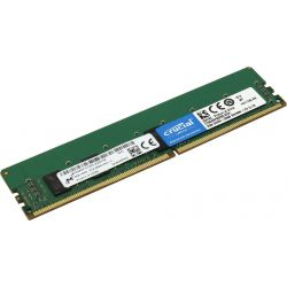 Crucial 8GB DDR4 2666MT/s CL19 SR x8 ECC Registered DIMM 288pin memória