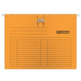 DONAU A4 gyorsfűzős karton narancs függőmappa