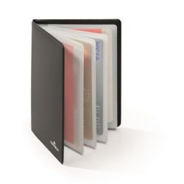 DURABLE 8 db-os fekete bankkártya tartó RFID védelemmel