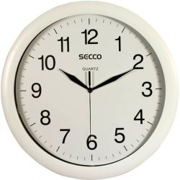 SECCO 32 cm fehér falióra