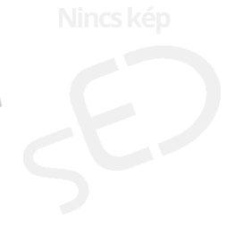 DONAU A4 kockás karton fekete gumis mappa