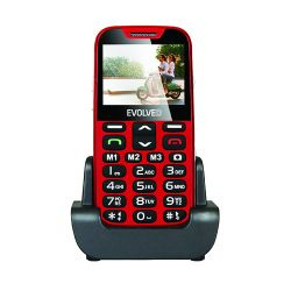EVOLVEO Easyphone XD (EP600) mobiltelefon (piros)