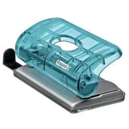 Rapid Colour Ice 10 lapos kétlyukú kék mini lyukasztó