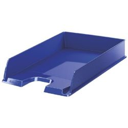 "ESSELTE ""Europost"" műanyag kék irattálca"