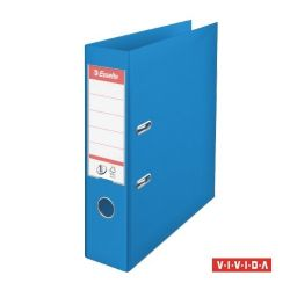 """Esselte """"Standard"""", 75 mm, A4, PP, élvédő sínnel, Vivida kék iratrendező"""