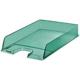 "ESSELTE ""Colour`Ice"" műanyag zöld irattálca"