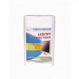Esperanza ES106 LCD/TFT, 100db nedves tisztítókendő