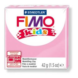 Fimo Kids égethető pink gyurma (42 g)