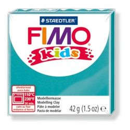 Fimo Kids égethető türkiz gyurma (42 g)