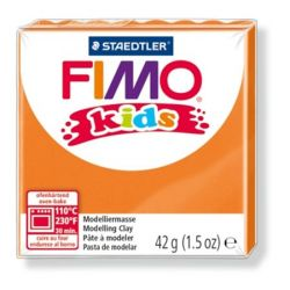 Fimo Kids égethető narancssárga gyurma (42 g)