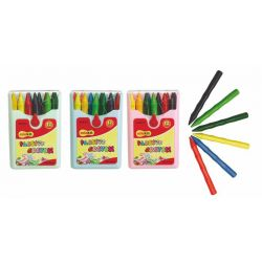 """COLOKIT """"Plastic Crayon"""" 12 különböző színű zsírkréta"""