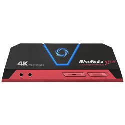 AVerMedia Video Grabber Live Gamer Portable 2 Plus, USB, HDMI, 4Kp60 külső box