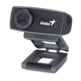 Genius FaceCam 1000X 1MP 1280 x 720px USB 2.0 Fekete webkamera