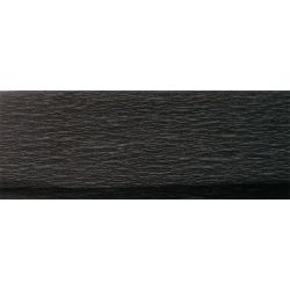 Fekete 50x200 cm krepp papír