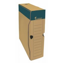 VICTORIA A4 80 mm karton natúr archiváló doboz