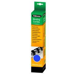 FELLOWES 6 mm, 10-20 lap, műanyag kék spirál (25 db)