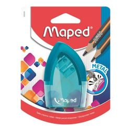 """Maped """"Tonic Metal"""",  kétlyukú, tartályos, vegyes színek, hegyező"""
