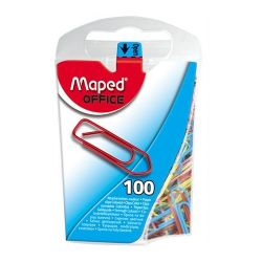 Maped 25mm színes gemkapocs (100 db/doboz)