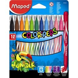 "MAPED ""Color`Peps Jungle"" kimosható Filctoll készlet"