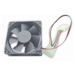 Gembird FANCASE-4 ATX 80x80mm 4-pin hűtőventilátor