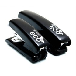"RAPESCO ""ECO Half-Strip"", 24/6, 26/6, 20 lap, műanyag, fekete tűzőgép"