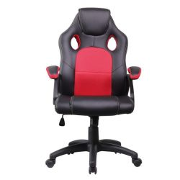 Iris GCH102BR Class 2 gázemelő, 670 mm háttámla, fekete-piros gamer szék