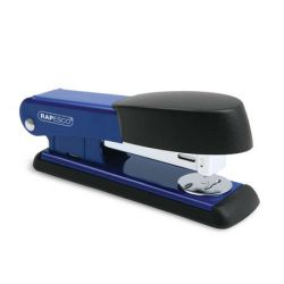 """RAPESCO """"Bowfin Half-Strip"""", 24/6, 26/6, 25 lap, fém, kék tűzőgép"""