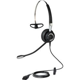 Jabra BIZ 2400 II (2406-720-209) QD Mono UNC 3-in-1 vezetékes fekete headset