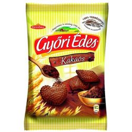 """Győri """"Győri édes"""" 180 g kakaós keksz"""