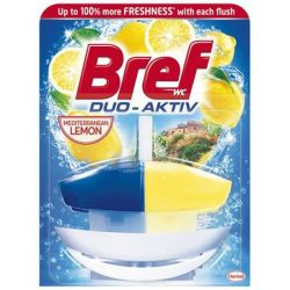 Bref Duo Aktiv 50 ml citrus illatú WC illatosító gél