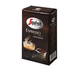 Segafredo Espresso Casa 250 g őrölt pörkölt kávé vákuumos csomagolásban