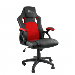 White Shark Kings Throne max. 130kg fekete-piros műbőr gamer szék