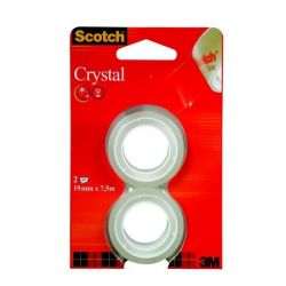 "3M SCOTCH ""Crystal"" 19 mm x 7,5 m ragasztószalag"
