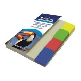 VICTORIA 20x50 mm műanyag vegyes színű jelölőcímke (4x40 lap)