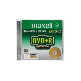 MAXELL DVD+R 4.7GB 16x Slim írható DVD lemez