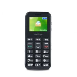 "myPhone Halo mini 2 1.77"" 32MB Single SIM 2G fekete mobiltelefon"
