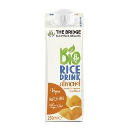 THE BRIDGE 0,25 l dobozos mandulás bio rizs növényi ital
