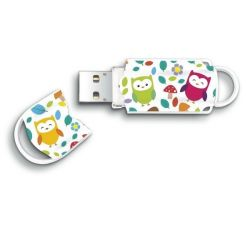 Integral Xpression 8GB USB 2.0 bagoly mintás pendrive