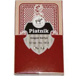 PIATNIK 181313 magyar kártya (piros)