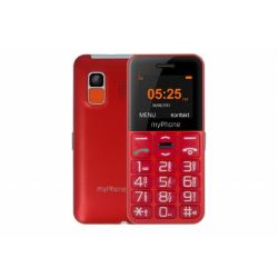 "myPhone Halo Easy 1.77"" Single SIM 2G piros mobiltelefon"