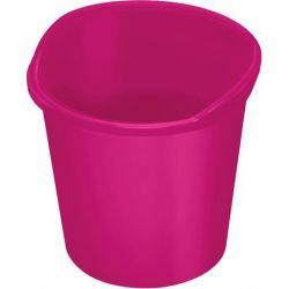 """HELIT """"the joy"""" (13 liter) műanyag rózsaszín papírkosár"""