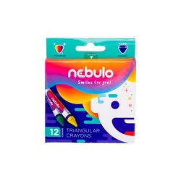 NEBULO háromszögletű 12 darabos zsírkréta